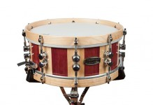 Purpleheart/Maple Stripe Snare