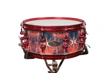 Red Solar Flare 30-ply Snare