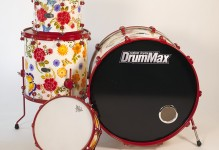 Flowery Drum Kit – As seen at Summer NAMM